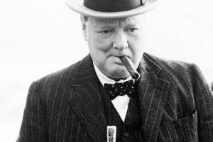 churchill and cigarette leaf 12